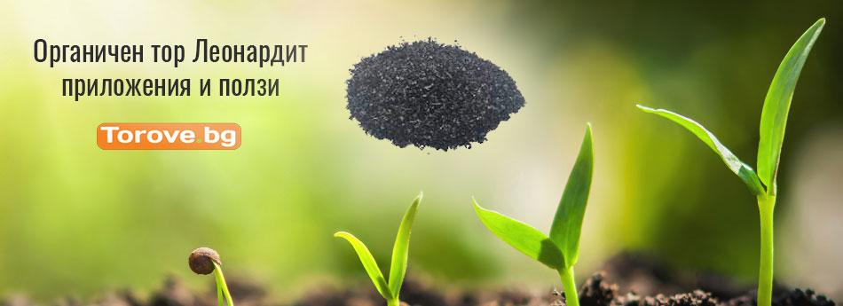 Органичен тор Леонардит - приложения и ползи