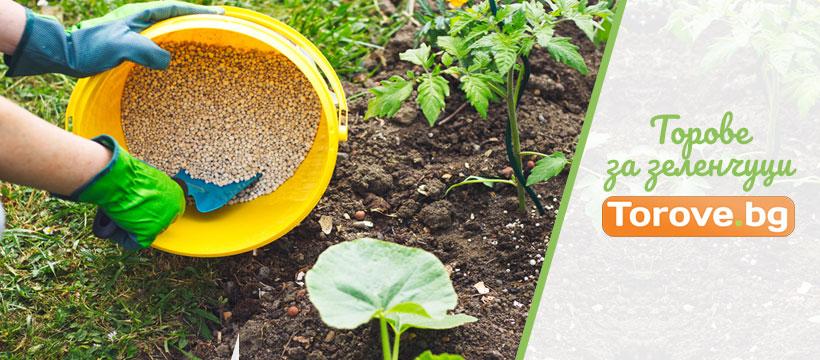 Торове за зеленчуци - Видове, Правилно засаждане и торене